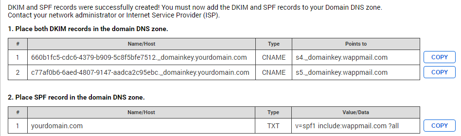 Registered Email Domains - Help Center - WorldAPP Knowledge Base